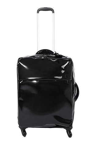 Lipault Plume Vinyle Luggage 4 Wheels 65cm Black FW15