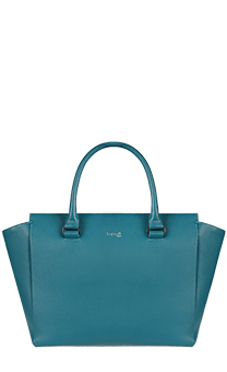 Lipault Plume Elegance Satchel Bag M  Duck Blue
