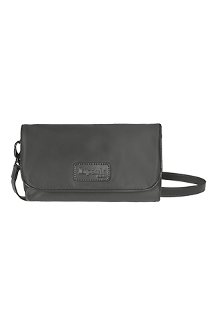 Lipault Lady Plume Clutch Bag S Anthracite Grey