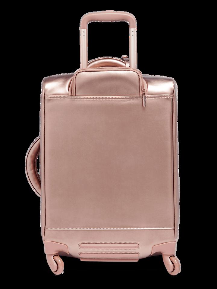 Miss Plume Trolley mit 4 Rollen 55cm Pink Gold | 2