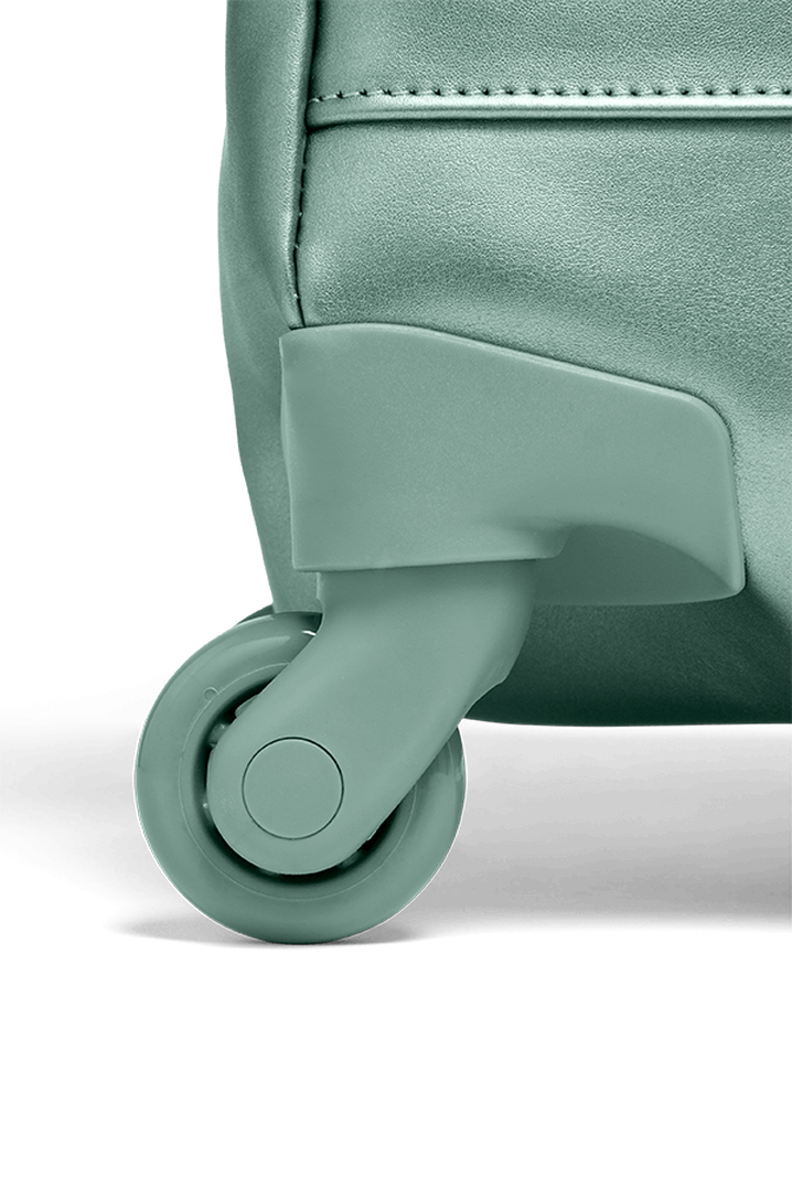 Miss Plume Trolley mit 4 Rollen 55cm Aqua Green | 5