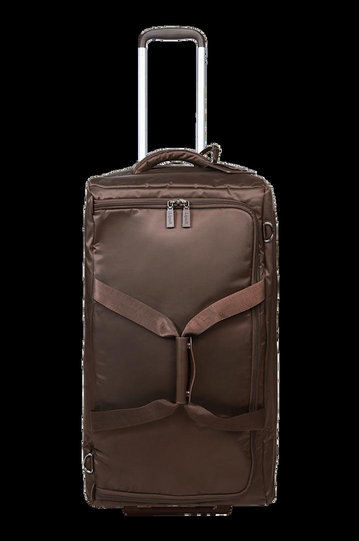 Pliable Reisetasche mit Rollen 68cm Chocolate | 1