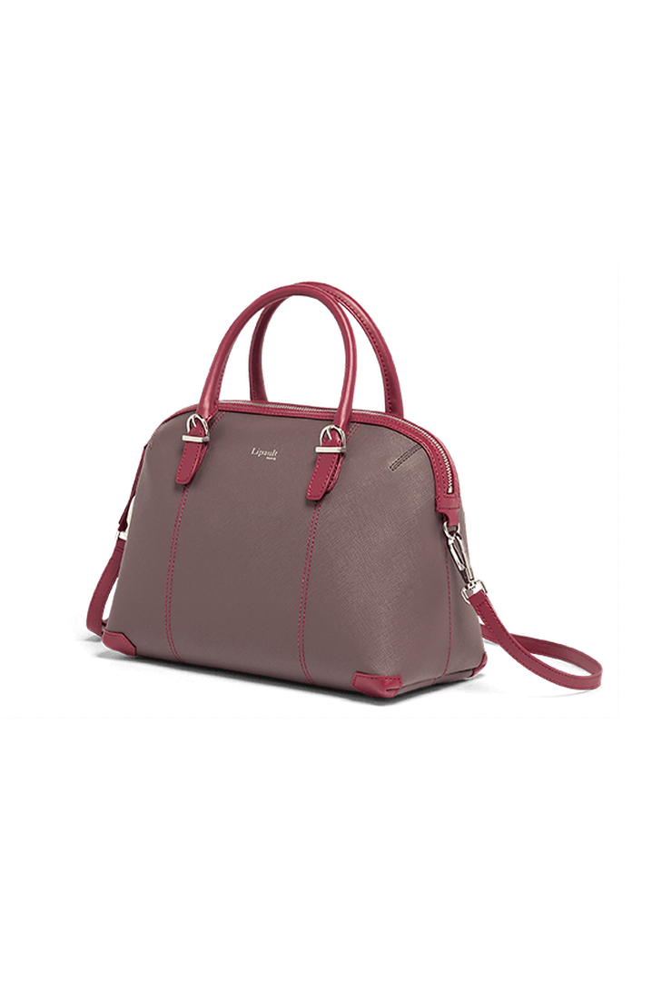Variation Boston Tasche Grey/Raspberry | 4