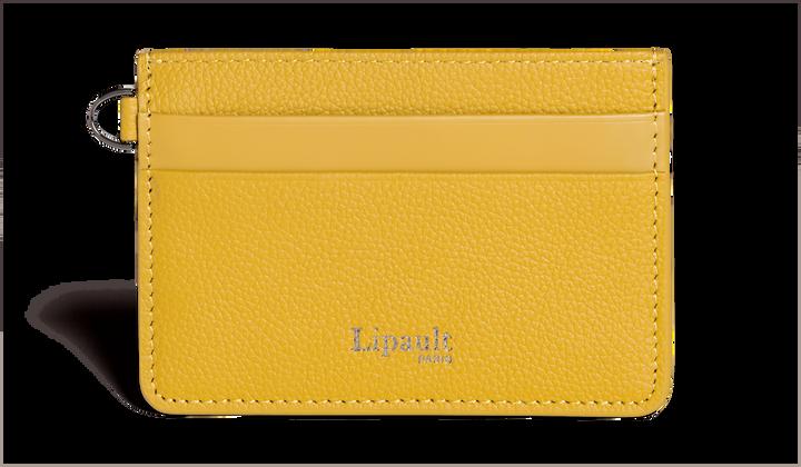 Plume Elegance Kreditkartenetuis Mustard | 1