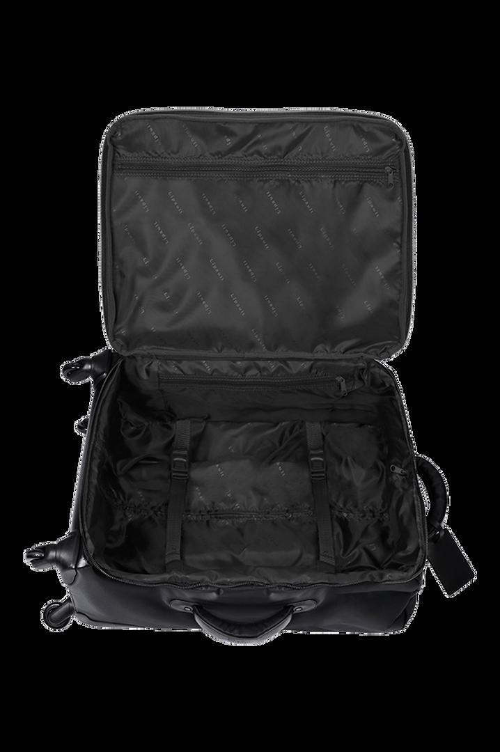 Plume Premium Trolley mit 4 Rollen 65cm Black | 2