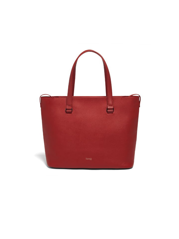 Plume Elegance Shopper L Ruby   1