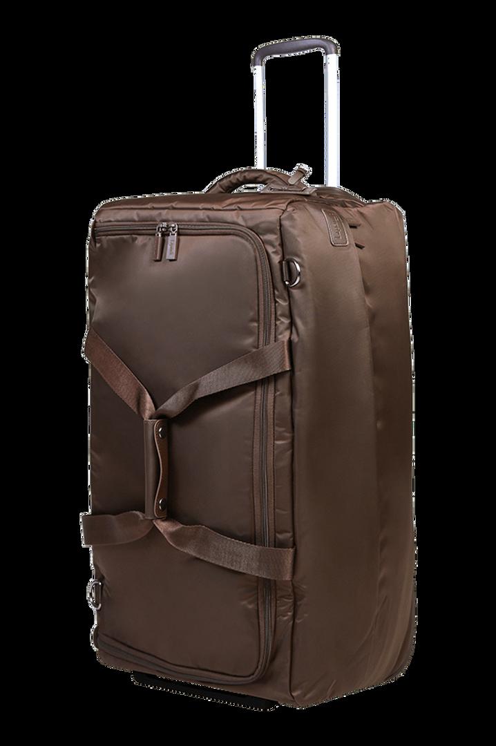 Pliable Reisetasche mit Rollen 68cm Chocolate | 5