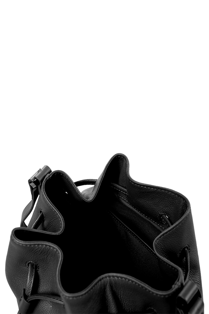 Plume Elegance Beuteltasche Black | 4