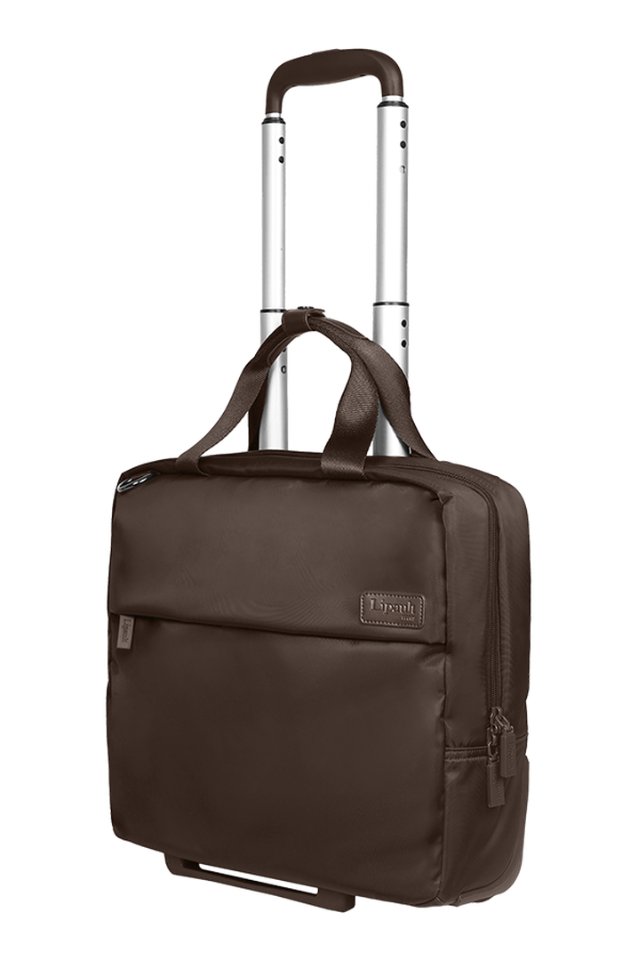 Plume Business Trolley mit 2 Rollen 48cm Chocolate | 4