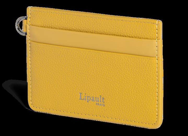 Plume Elegance Kreditkartenetuis Mustard | 4