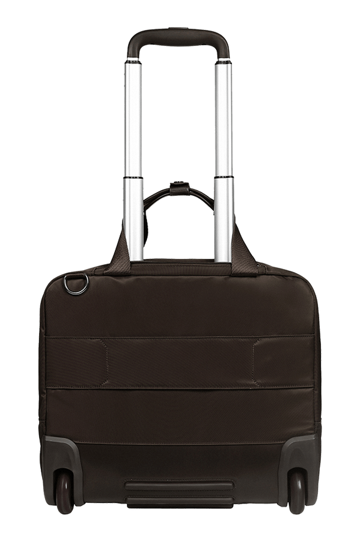 Plume Business Trolley mit 2 Rollen 48cm Chocolate | 5