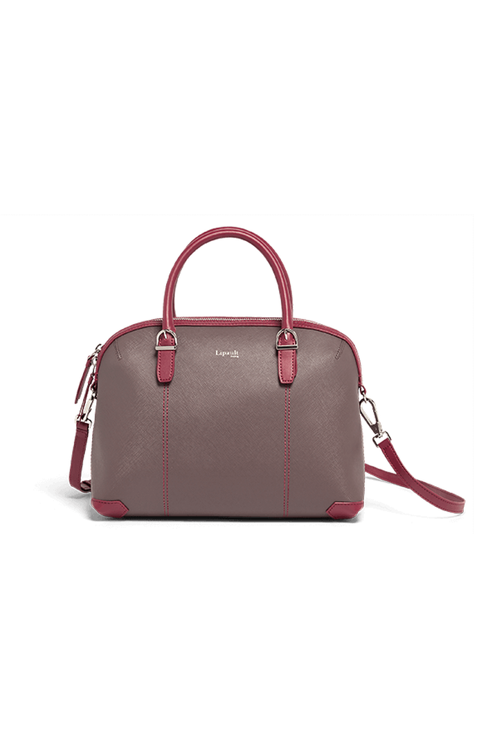 Variation Boston Tasche Grey/Raspberry | 1