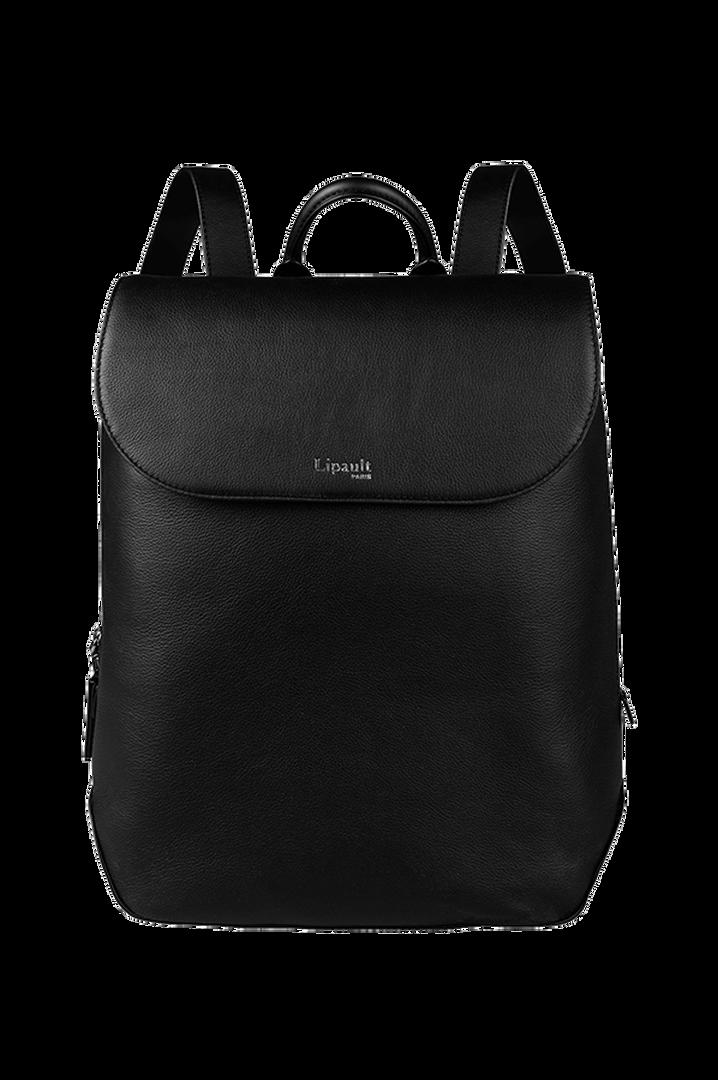 Plume Elegance Laptop Rucksack M Black   1
