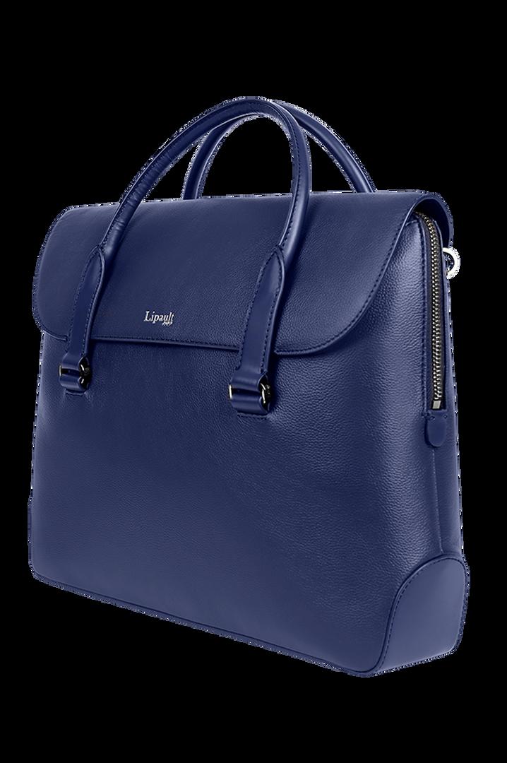 Plume Elegance Laptop Handtasche Navy   4