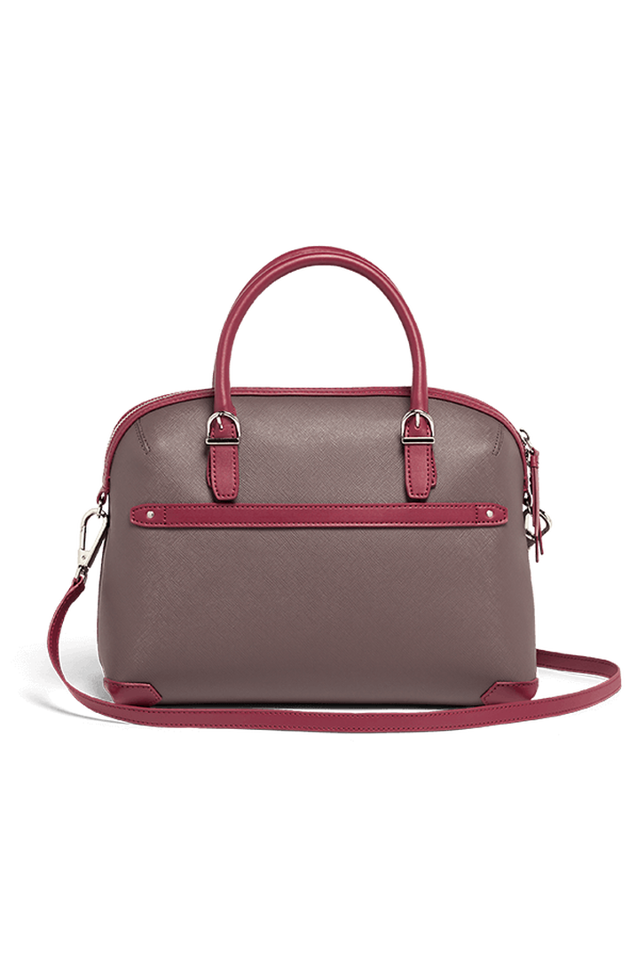 Variation Boston Tasche Grey/Raspberry | 3