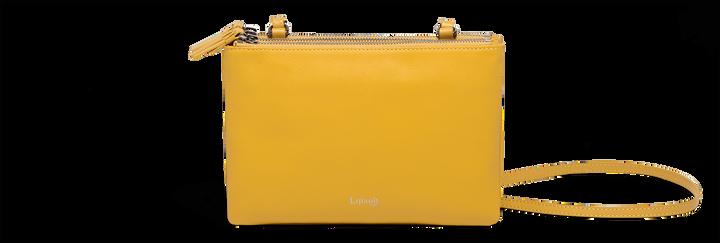 Plume Elegance Handtasche Mustard   1
