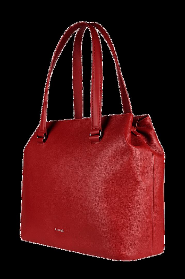 Plume Elegance Shopper L Ruby   3
