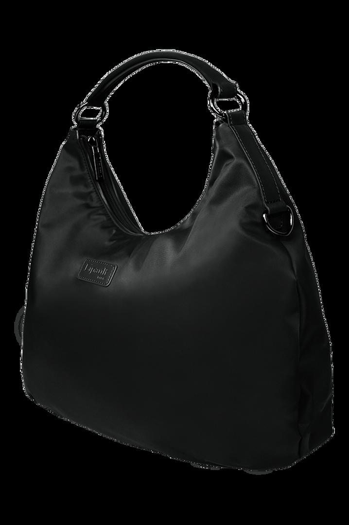 Lady Plume Hobo bag M Black | 2