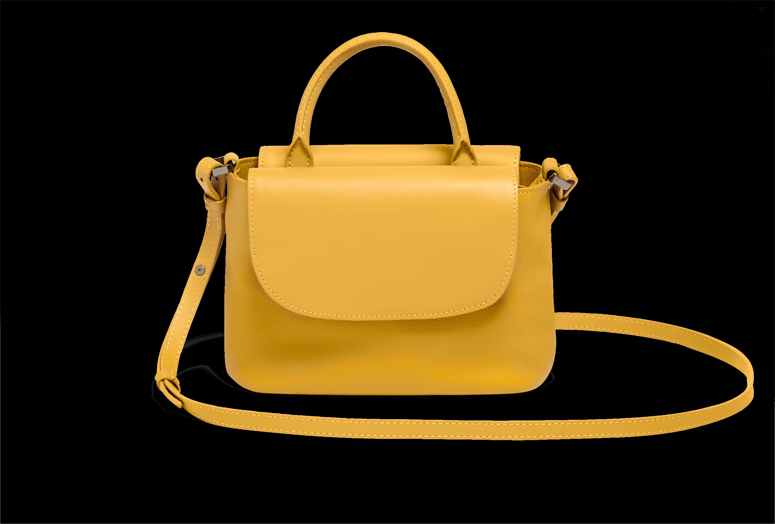 0e9dfa97ac20c Plume Elegance Handtasche Mustard