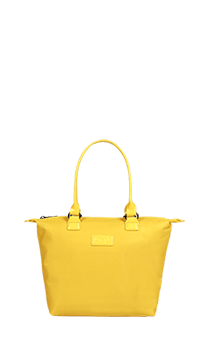 Lipault Lady Plume Tote Bag S  Saffron Yellow